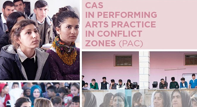 Performing Arts Practice in Conflict Zones