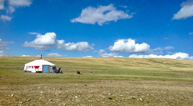 What does home in Mongolia and Switzerland mean?