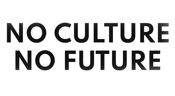 LA LETTRE OUVERTE: NO CULTURE NO FUTURE